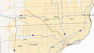 Michigan Construction Map M 10 Michigan Highway Wikipedia