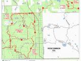 Michigan Dnr Snowmobile Maps Denton Creek Trail and Route East Mi Dnr Avenza Maps