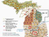 Michigan Dnr Snowmobile Maps Dnr Dmu Management Info