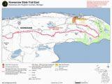 Michigan Dnr Snowmobile Maps Keweenaw State Trail East Mi Dnr Avenza Maps
