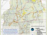 Michigan Dnr Snowmobile Maps Lac Du Flambeau Wi Snowmobile Trail Map Brap Trail Maps Trail Map
