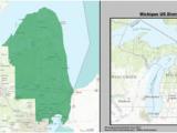 Michigan House District Map Michigan S 10th Congressional District Revolvy
