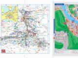 Michigan Morel Map Salzburger Land Card 2011 Folder by Saalfelden Leogang touristik