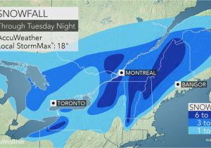 Michigan Radar Map nor Easter to Lash northern New England with Coastal Rain and Heavy