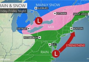Michigan Radar Map Stormy Weather to Lash northeast with Rain Wind and Snow at Late Week