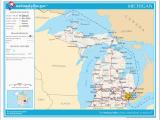 Michigan Rivers Map Datei Map Of Michigan Na Png Wikipedia