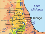 Michigan Rivers Map Des Plaines River Wikipedia