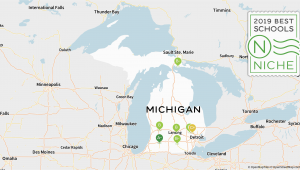Michigan School Districts Map 2019 Best Online High Schools In Michigan Niche