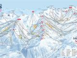 Michigan Ski Resorts Map Three Valleys Piste Map