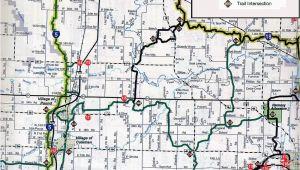 Michigan Snowmobile Maps Coleman Wi Snowmobile Trail Map Brap Pinterest Trail Maps