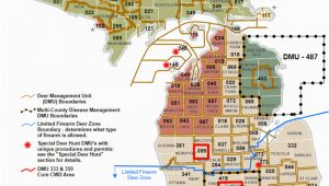 Michigan State Land Map Hunting Dnr Dmu Management Info
