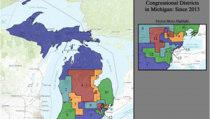 Michigan State Senate Map Michigan S Congressional Districts Revolvy