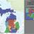 Michigan State Senate Map Michigan S Congressional Districts Revolvy