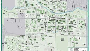 Michigan State University Football Parking Map Michigan State University Map New Michigan Maps Directions