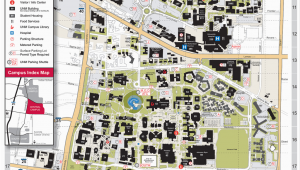 Michigan Tech Campus Map Central Campus Map