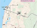 Michigan township and Range Map Zetterberg Preserve at Point Betsie