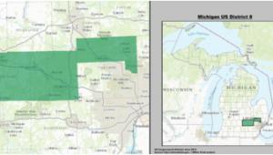 Michigan Voting District Map Michigan S 8th Congressional District Wikipedia