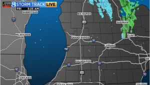Michigan Weather forecast Map Radar Satellite