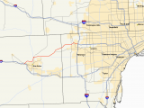 Michigan West Coast Map M 14 Michigan Highway Wikipedia