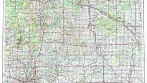 Midland Michigan Map Midland Map Etsy