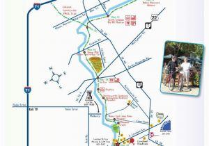 Milford Ohio Map Trail Maps Little Miami Loveland Bike Trail Map Loveland Ohio