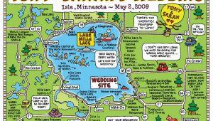 Mille Lacs Minnesota Map Fun Maps Usa