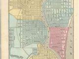 Milwaukee Minnesota Map 23 Best Vintage Milwaukee Maps Images In 2019 Milwaukee Map Maps