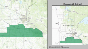 Minnesota 4th Congressional District Map Minnesota S 1st Congressional District Wikipedia