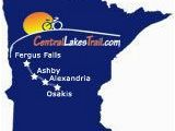 Minnesota Bike Map Central Lakes Trail Minnesota Trails Osakis Fergus Falls