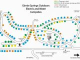 Minnesota Camping Map Camp Sites at Ginnie Springs Outdoors Camping Florida