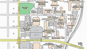 Minnesota Colleges Map Campus Map St Cloud State University