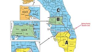 Minnesota Deer Hunting Zones Map 2014 Hunt Zones Map Hunting In Florida Deer Hog and Turkey Map