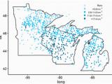 Minnesota Deer Hunting Zones Map 2014 Quantifying Impacts Of White Tailed Deer Odocoileus Virginianus