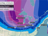 Minnesota Driving Conditions Map Weather Polar Vortex Snow to Chill area This Week