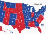 Minnesota Election Map Presidential Election Of 1992