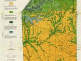 Minnesota Geological Map Generalized Geologic Map Of butler County and Locations Of Selected