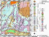 Minnesota Geological Map Geological Map with Mineral Deposits Combined Geological Map Of