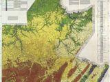 Minnesota Geological Map Greater Pittsburgh Region Geologic Map Pennsylvania Geology Penn