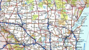 Minnesota Highway and Road Map Wisconsin Road Map