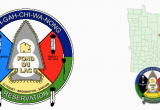 Minnesota Indian Reservations Map 11 Nations and Flags Of Minnesota Native Americans Metropolitan