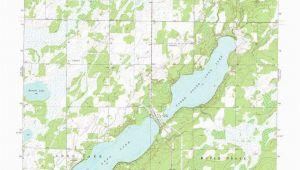 Minnesota Lake Contour Maps south Long Lake topographic Map Mn Usgs topo Quad 46094c1