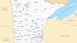 Minnesota Map Of Cities and towns Mn County Maps with Cities and Travel Information Download Free Mn