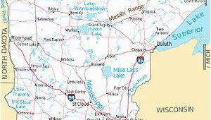 Minnesota On A Us Map Mesabi Range Wikipedia