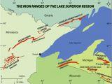 Minnesota On the Map Of Usa Iron Range Wikipedia