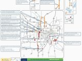 Minnesota Road Construction Map Closures On I 35w Lane Reductions Throughout Metro area This Weekend