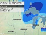 Minnesota Road Report Map Central Plains Blizzard to Spread to Upper Midwest Into Sunday