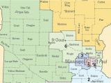 Minnesota Senate District Map Congressional Map Up In the Air as Big Election Year Looms Audio