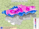 Minnesota Snow Depth and Range Maps the Heavy Snow Of 29 30 January 2010