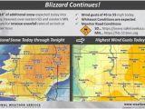 Minnesota Snow Map Blizzard Conditions Continue Aberdeennews Com