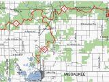 Minnesota Snowmobile Trail Map Michigan Snowmobile Trails Map Snowmobile Trails Lake City area